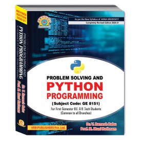 Problem Solving and Programming Using Python
