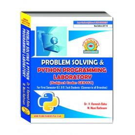 Problem Solving And Python Programming Laboratory